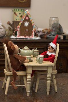 Hora do chá Elf