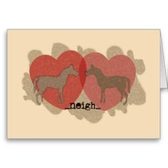 Pony Love Valentine's Day Greeting Card