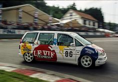 Racing Corner  Built by SuperTouring regulations, raced at the 1995 Spa 24 hours : the Kronos Racing Peugeot 806.