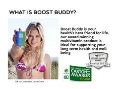 What's Boost Buddy? Does it work? Learn about its approved health claims (EFSA). Laura Crane, Does It Work, Do Love, Our Body, Vitamins And Minerals, Europe, Good Things, Learning, Health