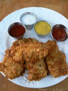 Potato Chip Chicken Tenders by greta