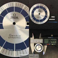 Wunderschönes Omega Dynamic Zifferblatt mit Zeigern NOS! - Uhren