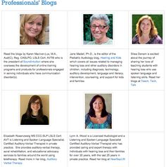 Blogroll at the Listening and Spoken Language Knowledge Center Click HERE to link to some of my friend and colleagues' blogs.