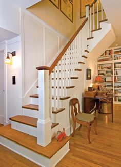 Someday, I want to own a home with stairs like these. So beautiful!