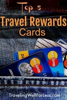 The best travel rewards cards let your transfer points for free flights, hotels, and activities. You should get these top 5 travel rewards cards. | travel for free | travel hacks | travel hacking | travel rewards cards | www.travelingwellforless.com