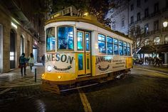 Tram 28 - Lisbon #night #lisbon #lisbona #lisboa #portugal #tram #tram28 #europetrip #amazingview #beautifuldestinations #wonderfulplaces #instalike #trip #city #europe_vacations #lisbonlovers #nightview #mss http://ift.tt/2nko84k