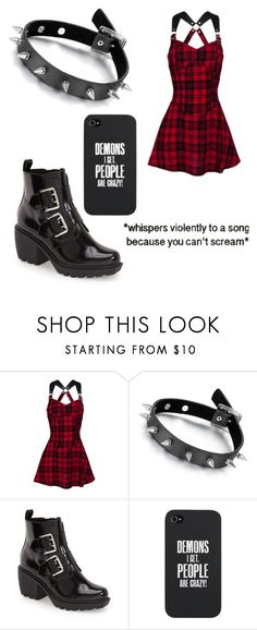 """Emo?"" by lolharrystyles34 ❤ liked on Polyvore featuring Opening Ceremony"