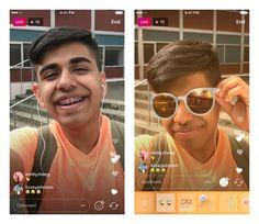 Instagram добавил «маски» для прямых трансляций в Stories ⠀⠀⠀⠀⠀⠀⠀⠀⠀ Фотосервис Instagram добавил возможность накладывать «маски» на видео во время прямых трансляций. Об этом сообщается в блоге компании. ⠀⠀⠀⠀⠀⠀⠀⠀⠀ Кнопка для добавления фильтров появится в правом нижнем углу в окне съёмки «историй». Ранее «маски» можно было наложить только на заранее отснятые фото, видео и «бумеранги».  ⠀⠀⠀⠀⠀⠀⠀⠀⠀ Специально для «живых» видео Instagram добавил новую «маску» — солнечные очки с изменяемым…