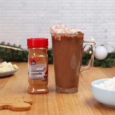 Drinks Alcohol Recipes, Yummy Drinks, Yummy Food, Fancy Drinks, Yummy Treats, Tasty Videos, Starbucks Recipes, Tiny Food, Hot Chocolate Recipes