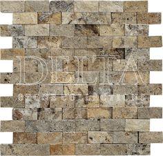 Scabas splitface mosaic 2,3x4,8 cm (DG 1125)
