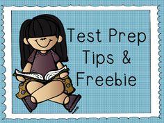Teach123 - tips for teaching elementary school: Test Prep Tips & Freebie