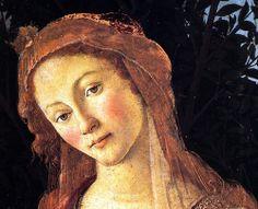 drakontomalloi:  Sandro Botticelli -Primavera, detail. 1482