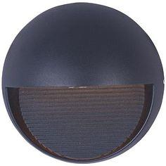 """ET2 Alumilux DC 6 1/2"""" High Bronze LED Outdoor Wall Light"""