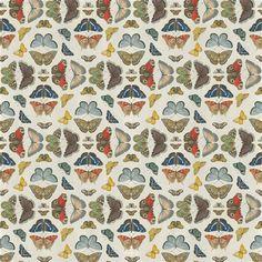 Designers Guild Fabric amarapali Peonía F1840//01 Lino Floral colourfull