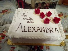Tort si prajituri Andrea &Cake and cookies Andrea: Tortul aniversar Diplomat Cookies, Cake, Desserts, Food, Crack Crackers, Pie, Postres, Biscuits, Mudpie