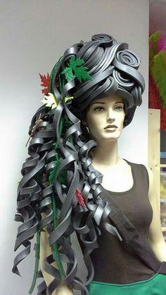 Autum Queen Foam Wig