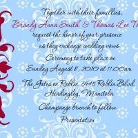 Tips for wedding invitation wording