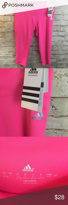 Adidas hose neon pink