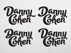 Dribbble - Danny Cohen by Rob Clarke