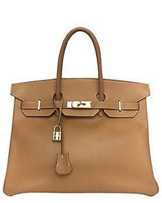 Hermes Gold Courchevel Leather Birkin 35cm GHW