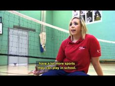 A video clip of a group of disabled young people involved in a number of different sports