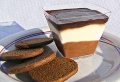 Dueto holandês com biscoito de especiarias