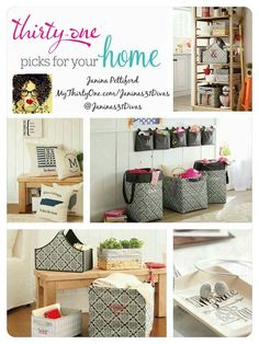 Thirty One For Your Home Www Mythirtyone Com Janinas31divas