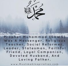 Prophet Muhammad (PBUH) is the founder of Islam and the final messenger sent by Allah (SWT). But what few people don't know is that he was… Prophet Muhammad, Muslim Women, Deen, Allah, Islamic, Faith, Lifestyle, People, Inspiration