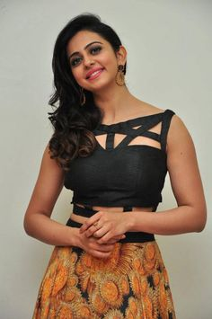 Beautiful Indian Girl Rakul Preet Singh Pics At Audio Launch In Black Dress Bollywood Actress Hot Photos, Beautiful Bollywood Actress, Most Beautiful Indian Actress, Bollywood Celebrities, Tamil Actress, Actress Photos, South Indian Actress, South Actress, India Beauty