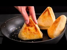 Pan-fried bread, or how to make bread differently!| Cookrate - YouTube Pan Fried Bread, How To Make Bread, Cornbread, Fries, Cheese, Salsa, Ethnic Recipes, Romania, Breads
