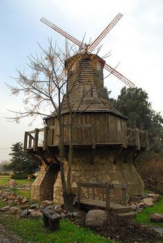 The old Windmill. Art Nouveau Arquitectura, Old Windmills, South America Travel, Most Beautiful Cities, Le Moulin, Adventure Awaits, Central America, Abandoned Places, Continents