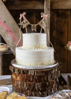 Cherry barc farm wedding cakes