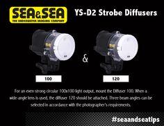 SEA&SEA Tip Tuesday! #tiptues YS-D2 Strobe Diffusers! #seaandseatips