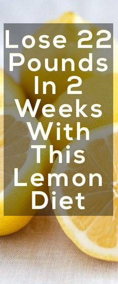 Do YOU Want To Lose More Than 20 Pounds In Just Only Two Weeks? CLICK HERE http://the50shadesofgreypdf.org/how-he-lost-22-pounds-with-this-weird-lemon-diet-in-just-2-weeks/ For All The Details..