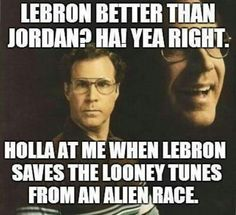 Jordan vs Lebron