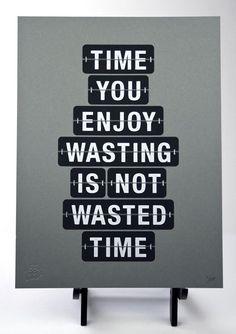 oh how I wish this was true. Perfektion ist auch nicht alles. Menschsein ist legitim.