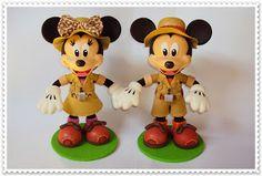 EVA CON ENCANTO: Mickey y Minnie EVA SAFARI EN 3D