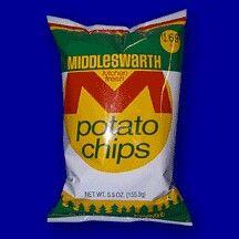 Middleswarth regular potato chips