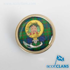 Dundas Clan Crest Badge. Free worldwide shipping available