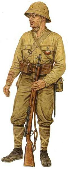 Japanese corporal, 11th infantry division, Singapore 1942,  pin by Paolo Marzioli