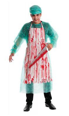 Disfraz Médico Forense. Dexter Terrorífico disfraz de médico forense basado en la serie de Tv Dexter.