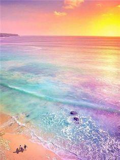 Sunshine Wallpaper, Ocean Wallpaper, Rainbow Wallpaper, Summer Wallpaper, Scenery Wallpaper, Sunset Iphone Wallpaper, Beautiful Landscape Wallpaper, Beautiful Landscapes, Aesthetic Backgrounds