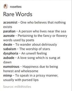 Rare Words to Use Writing Tools English Writing Skills, Book Writing Tips, Writing Words, Writing Prompts, Writing Help, Writing Ideas, Creative Writing Inspiration, Story Prompts, Essay Writing