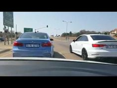 BMW M3 vs Audi S3 Street Racing, Drag Racing, Bmw M3, Audi