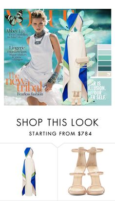 """Abbey Lee Kershaw for Vogue Australia"" by elem-mayara ❤ liked on Polyvore featuring O'Neill, Rosie Assoulin, Giuseppe Zanotti, Charlotte Russe, abbeyleekershaw, vogueAustralia, April2014 and GillesBensimon"