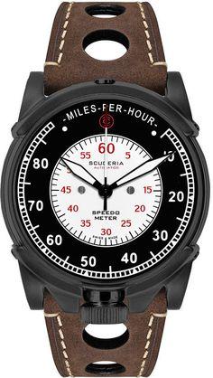 CT Scuderia Watch Dashboard Automatic #bezel-fixed #bracelet-strap-leather…