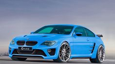 BMW m6 in blue on hd wallpapers from http://www.hotszots.eu/BMW/WallpaperBackgroundsBmw4.htm