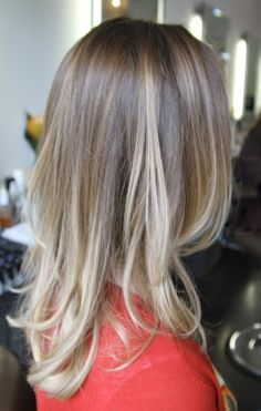 ombre blonde