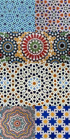 morocan tiles vs. quasicrystal zellij