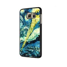 Batman Joker Starry Night Van Gogh Samsung Galaxy S6 | S6 Edge Cover Case